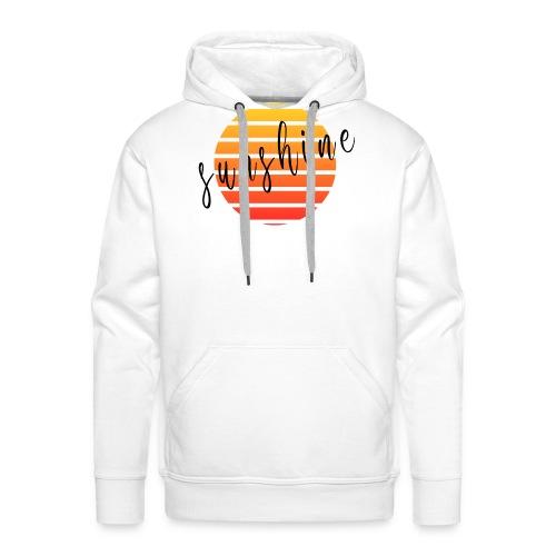 Sunshine - Sweat-shirt à capuche Premium pour hommes