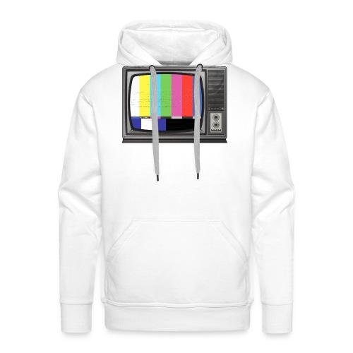 tv signal - Sweat-shirt à capuche Premium pour hommes
