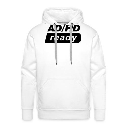 ADHD_READY - Premium hettegenser for menn
