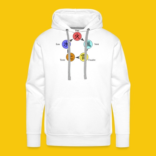 Mug Chakra - Sweat-shirt à capuche Premium pour hommes