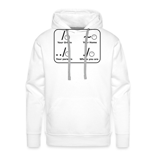 (slash_spreadshirt) - Männer Premium Hoodie