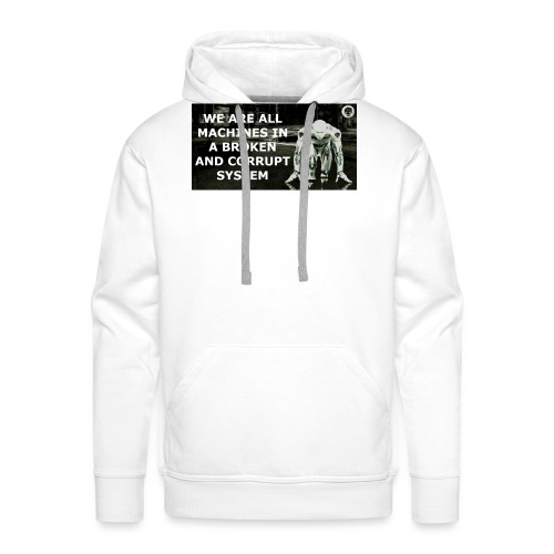 BROKEN MACHINES COLLECTION BY SYSTEM MACHINE - Men's Premium Hoodie