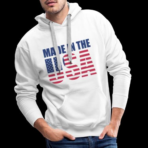 made-in-the-usa - Männer Premium Hoodie
