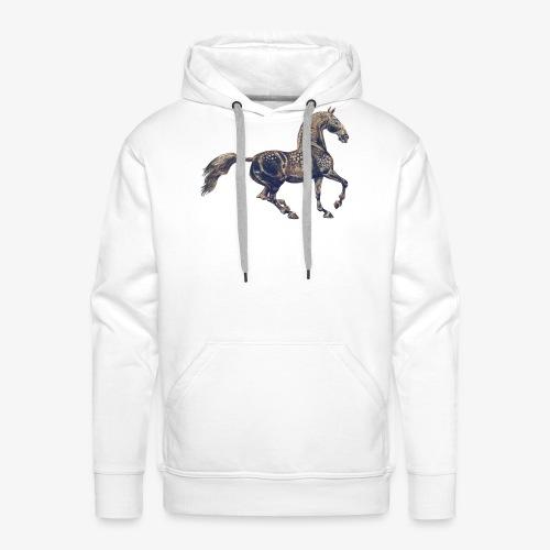 Lusitano - Sweat-shirt à capuche Premium pour hommes