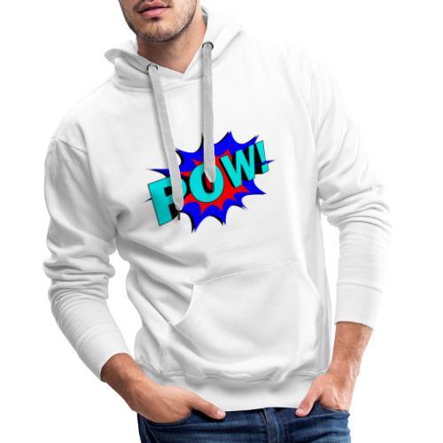 alfa-music - Sweat-shirt à capuche Premium pour hommes