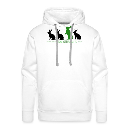 be different - Männer Premium Hoodie