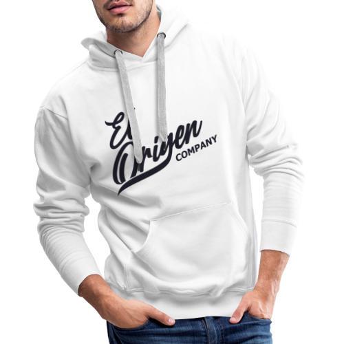 Logoblack - Sudadera con capucha premium para hombre