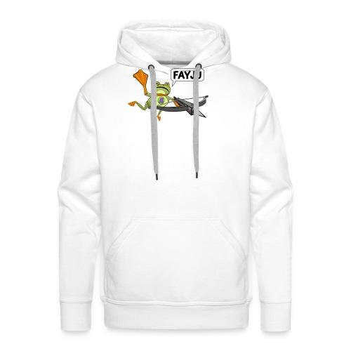 Amazing Frog Crossbow - Men's Premium Hoodie