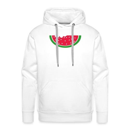 pastèque - Sweat-shirt à capuche Premium pour hommes