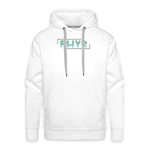 RWYR Normal White - Mannen Premium hoodie