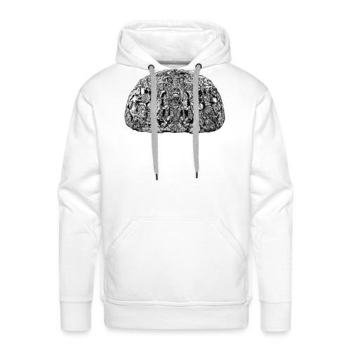 Zoomorphe P TEM - Sweat-shirt à capuche Premium pour hommes