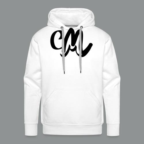 Button CM - Mannen Premium hoodie