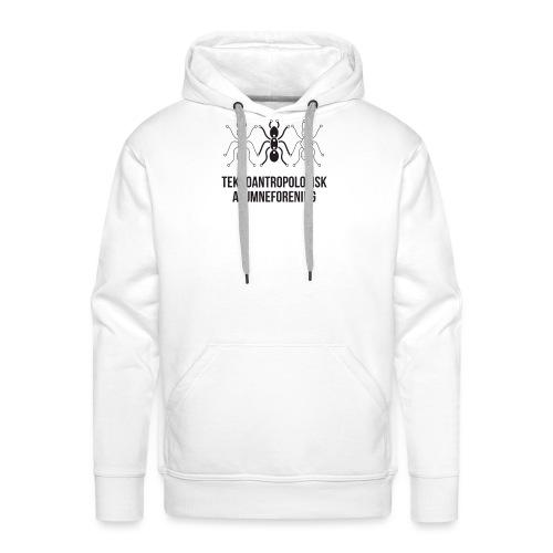 Teknoantropologisk Støtte T-shirt figur syet - Herre Premium hættetrøje