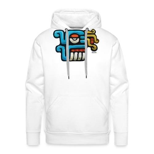Aztec Icon Rain - Men's Premium Hoodie
