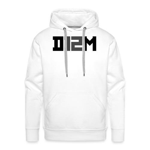 D12M: SHORT BLACK - Mannen Premium hoodie