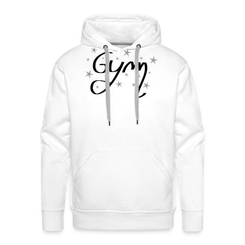 gym etoile - Sweat-shirt à capuche Premium pour hommes