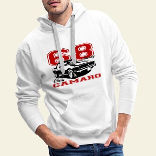68 camaro sixty eight - Herre Premium hættetrøje