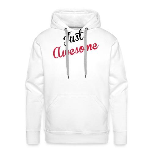 just_awesome - Sweat-shirt à capuche Premium pour hommes