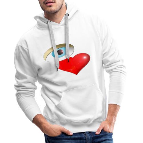 OVAL - Sweat-shirt à capuche Premium pour hommes