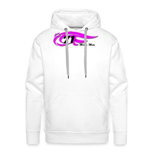 Logo Milou transparant Lichte kleding 2 - Mannen Premium hoodie