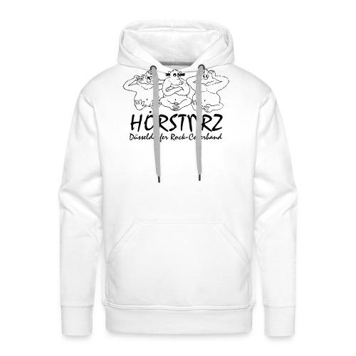 hoersturz logo komplett vektorisiert di - Männer Premium Hoodie