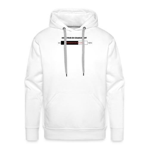 Directeur en chargement - Sweat-shirt à capuche Premium pour hommes