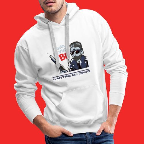 TerminaDingTshirt 01 - Sweat-shirt à capuche Premium pour hommes