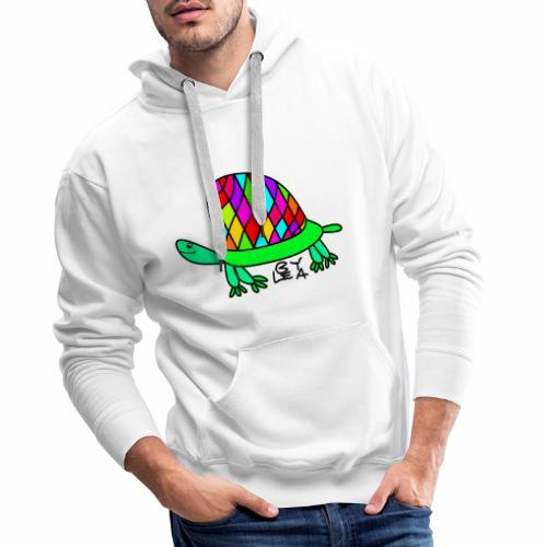 Schildkröte von Lea Version 2 - Männer Premium Hoodie