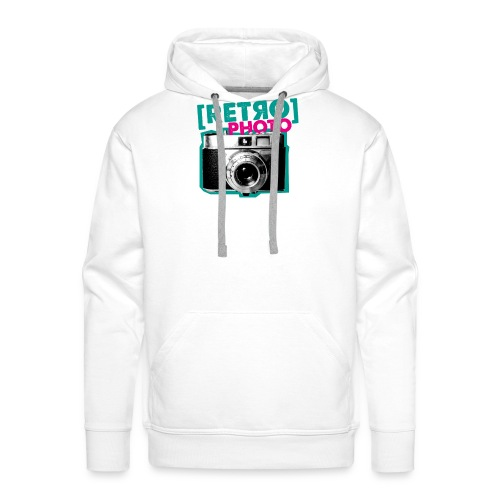 Retro Photo - Männer Premium Hoodie
