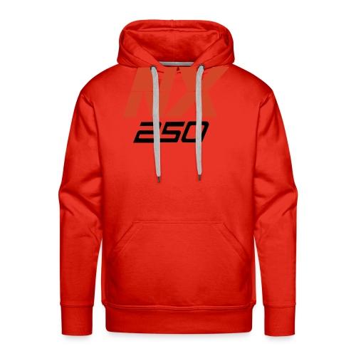 nx250 logo transparant - Mannen Premium hoodie