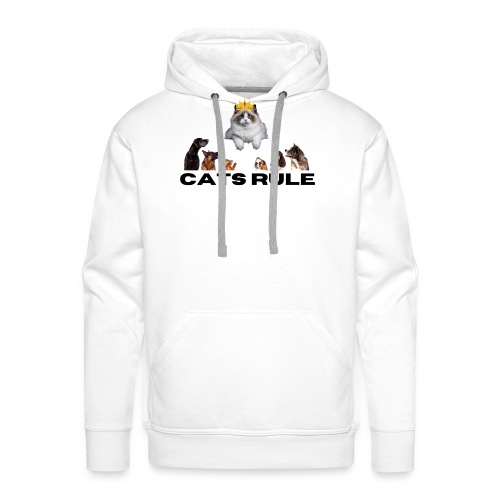 Cats Rule - Men's Premium Hoodie