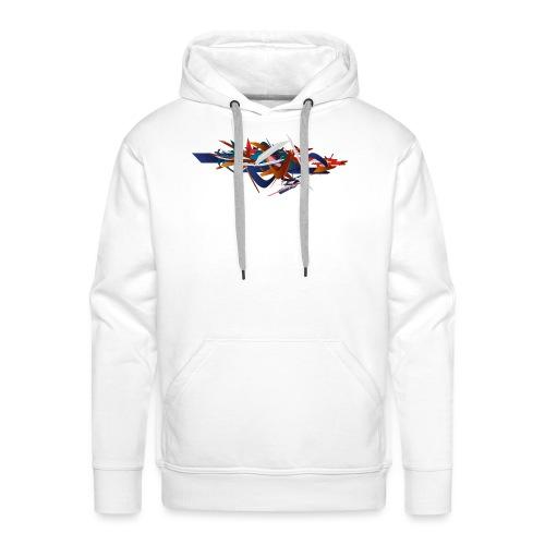 graffiti 3 4000px - Sweat-shirt à capuche Premium pour hommes