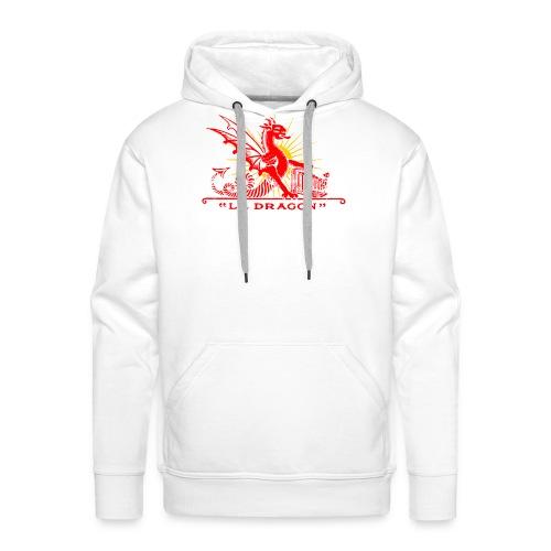 crumiere dragon redgold - Sweat-shirt à capuche Premium pour hommes