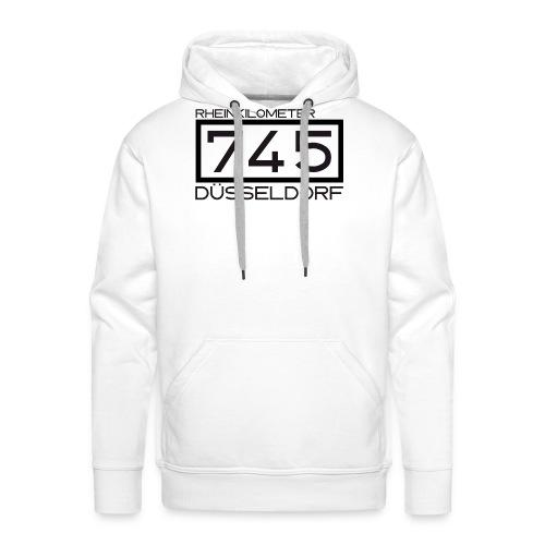 745-RK-Duesseldorf schwarz - Männer Premium Hoodie