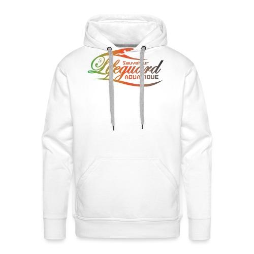 lifeguard multicolor - Sweat-shirt à capuche Premium pour hommes