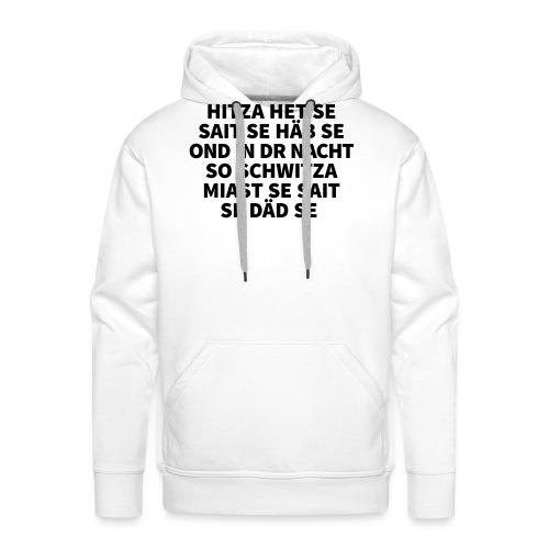 Hitza - Männer Premium Hoodie