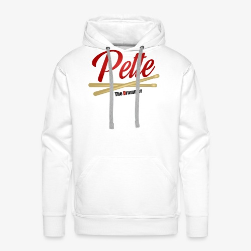 Pette the Drummer - Men's Premium Hoodie