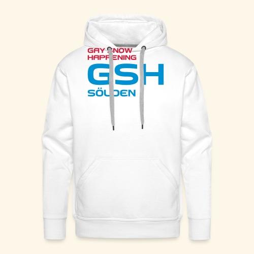 GSH_Logo_vector_hoch - Männer Premium Hoodie