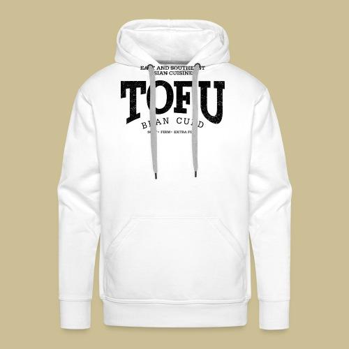 Tofu (black oldstyle) - Männer Premium Hoodie