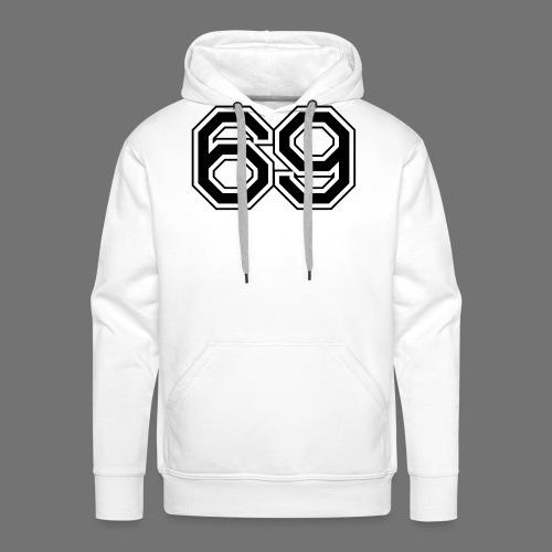 Rok 69 - Bluza męska Premium z kapturem