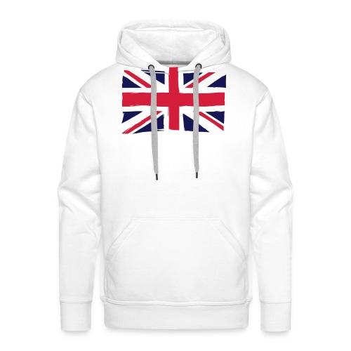 vlag engeland - Mannen Premium hoodie