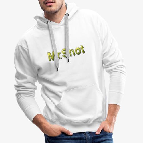 snot - Bluza męska Premium z kapturem