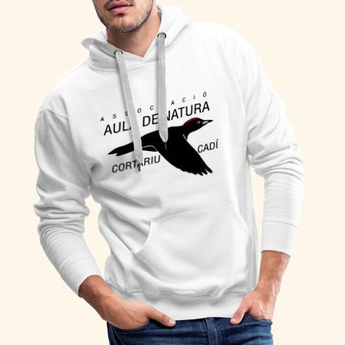 Aula Natura Brand - Sudadera con capucha premium para hombre