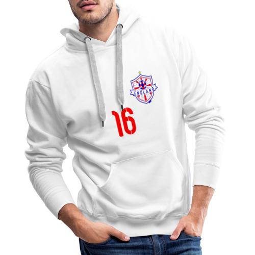 16 England 2014 Pelibol - Männer Premium Hoodie