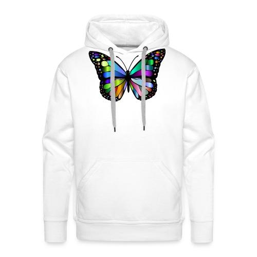 Schmetterling - Männer Premium Hoodie