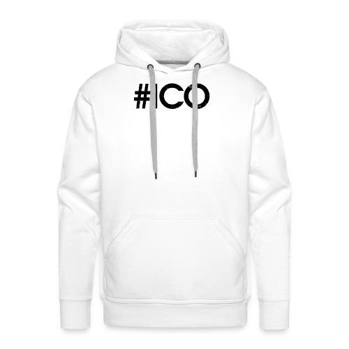 #Ico - Sweat-shirt à capuche Premium pour hommes