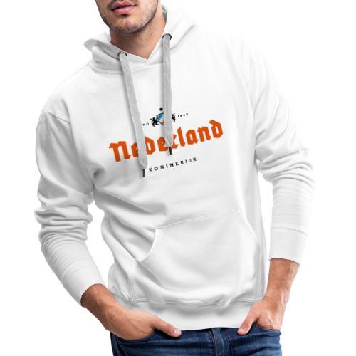 Nederland beerlabel - Sweat-shirt à capuche Premium pour hommes