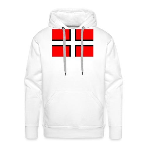 Saint-Malo - Sweat-shirt à capuche Premium pour hommes