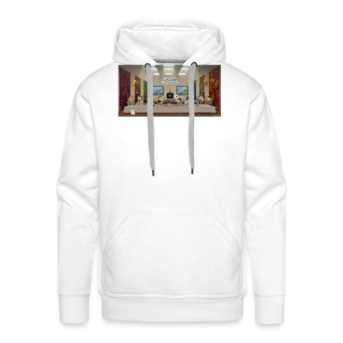 cene retro - Sweat-shirt à capuche Premium pour hommes