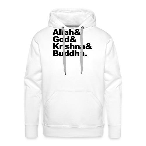 godsdiensten - Mannen Premium hoodie